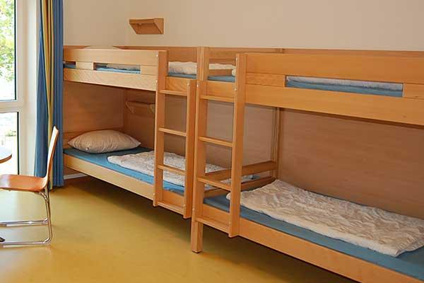 Bettwanzen in der Jugendherberge